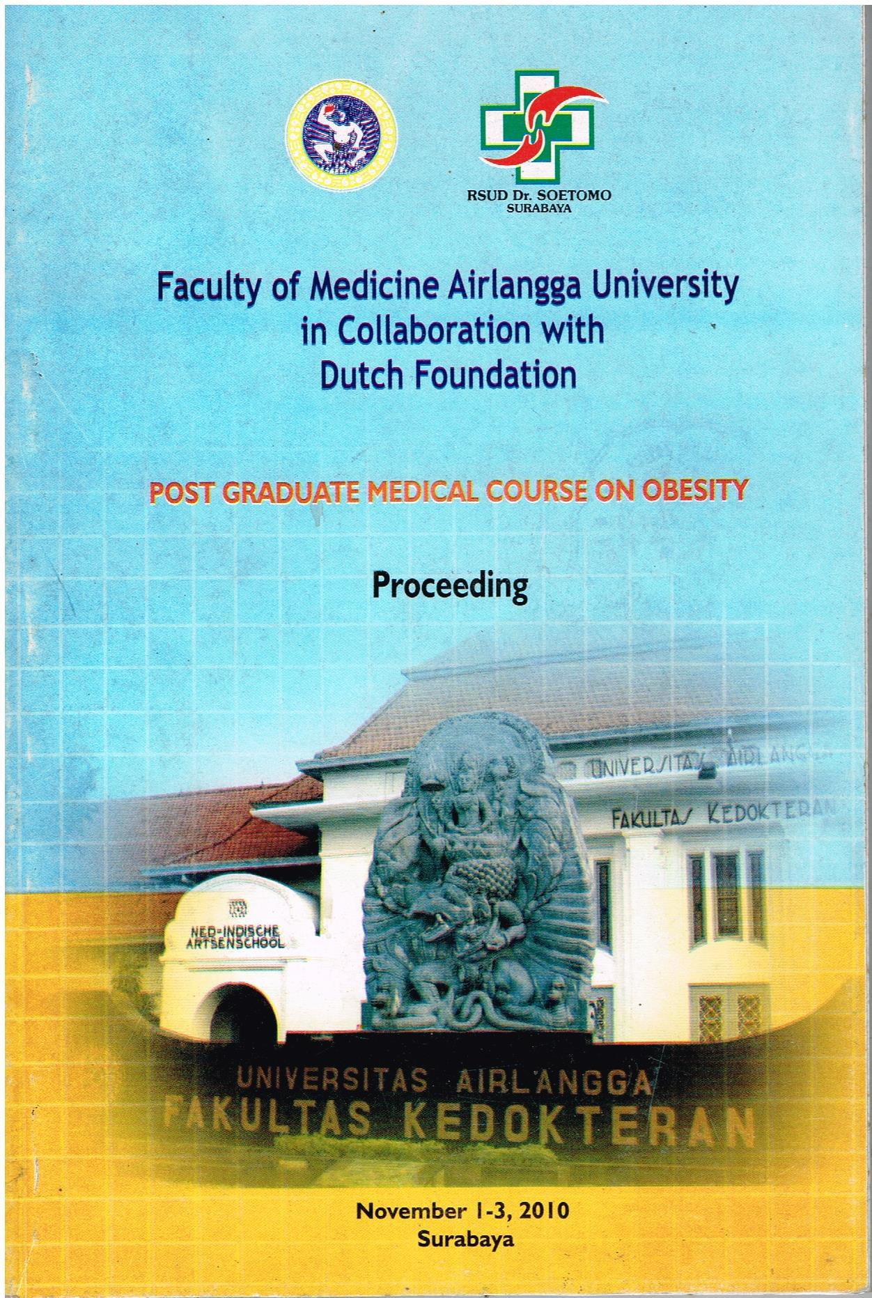 Proceeding Post Graduate Medical Course On Obesity